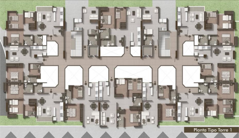 Conjunto Residencial Cibeles, Torre 1.
