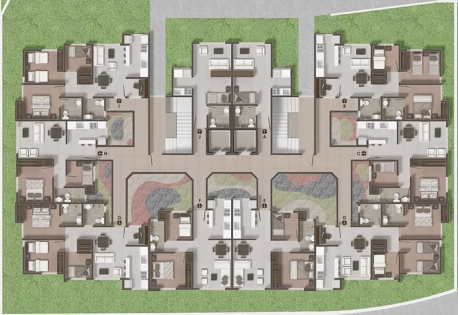 Conjunto Residencial Cibeles, Torre 5.